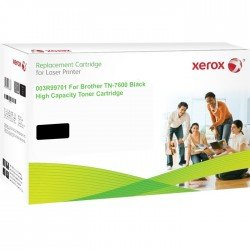 Xerox Replacement for Brother TN7600 Black Toner Cartridge