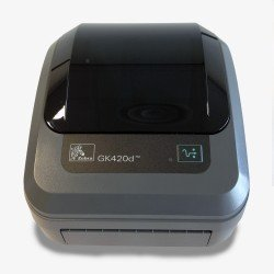 Zebra GK420D Thermal Printer (USB & Serial) front view