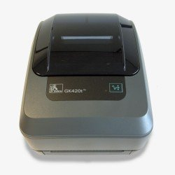 Zebra GK420T Thermal Printer (USB & Network) printing
