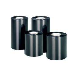 Zebra 03200SG06407 3200 High Performance Wax Ribbon 64mm x 74m (12 Rolls)