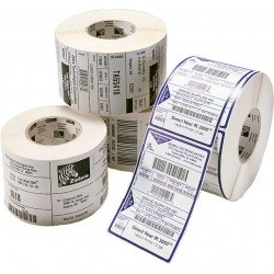 Zebra 3005869 Z-Perform 1000T Perforation Paper Label 74x210mm (6 Rolls)