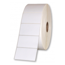 Zebra 3007453 Z-Ultimate 3000T White Perforation Polyester Labels 51x32mm (18 Rolls)