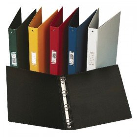 Elba Vision PVC A4 Black 4 Ring Binder 100080881