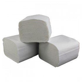 2Work White Recycled Bulk Pack 2 Ply Toilet Tissue 250 Sheets (36 Pack) T34434