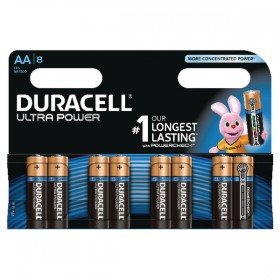 Duracell Ultra Power AA Batteries (8 Pack) 75051925