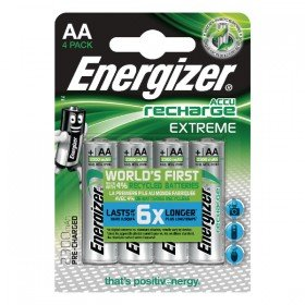 Energizer Extreme Rechargable AA Batteries 2300mAh (4 Pack) 635730