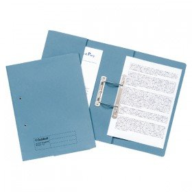 Guildhall Blue Foolscap Heavyweight Pocket Spiral File (25 Pack) 211/6000