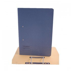 Guildhall Foolscap Blue Transfer File (25 Pack) 346-BLUZ