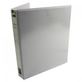 Q-Connect 25mm A4 White Presentation 4D-Ring Binder (6 Pack) KF01325Q