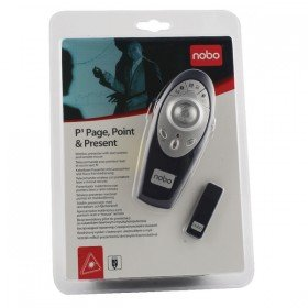 Nobo Dark Blue P3 Page, Point and Present Laser Pointer 1902390