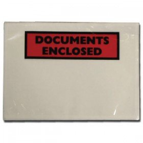 Documents Enclosed Self-Adhesive A5 Document Envelopes (1000 Pack) 4302003