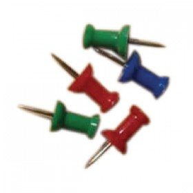 Push Pins Assorted (20 Pack) 20471