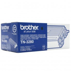 Brother TN3280 High Yield Black Toner Cartridge (8,000 pages*) TN3280